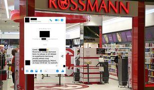 Rossmann ostrzega swoich klientów przez oszustami.