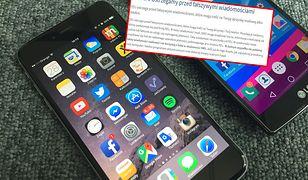 Ataki przeprowadzono drogą mailową i SMS-ową