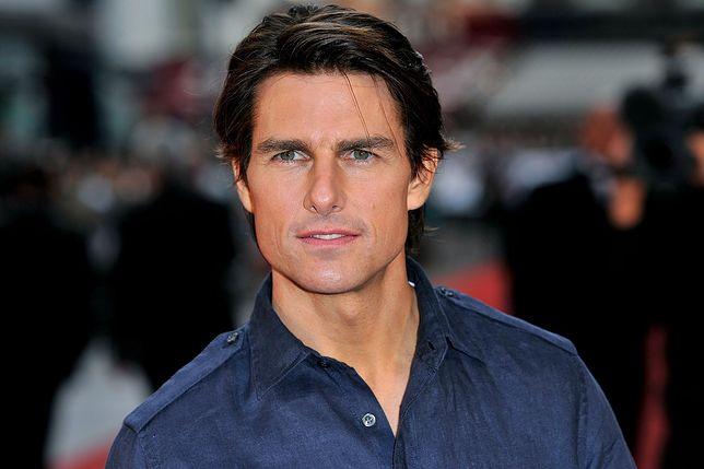Tom Cruise wybuchł złością na planie