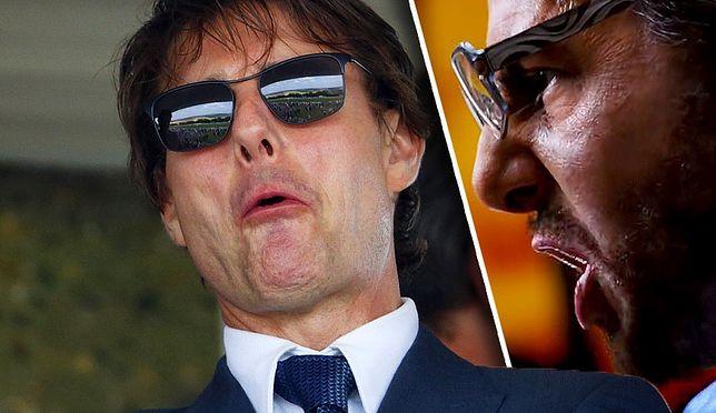 "Tom Cruise i jego filmowe alter ego, producent filmowy Les Grossman (""Tropic Thunder"")"