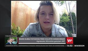 """Agnieszka Winnicka o karach na weselach: """"Nie ma ich tak dużo"""""""