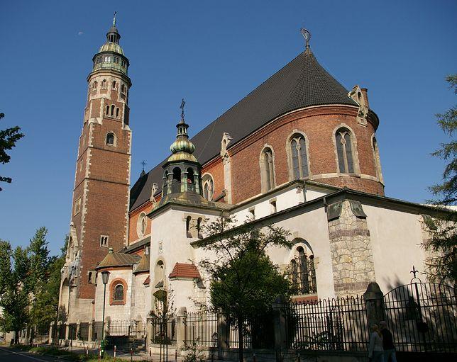 Koronawirus w Polsce. Zamknięta bazylika   Najświętszego Serca Jezusowego w Krakowie