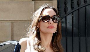 Angelina Jolie w Paryżu