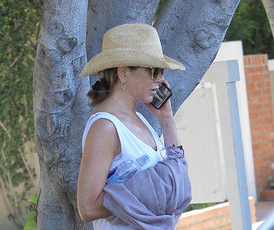 Jennifer Aniston przyłapana przez paparazzi