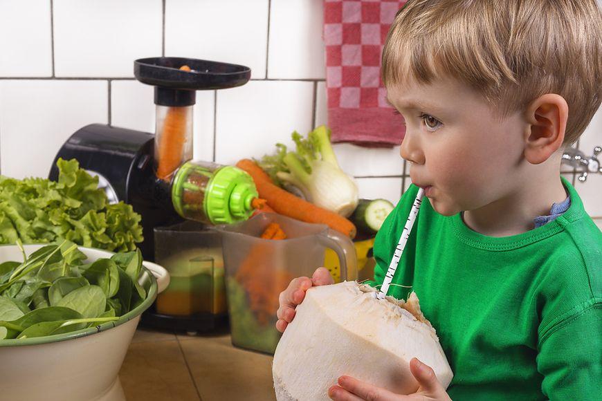 Woda kokosowa dla dzieci