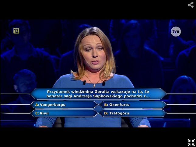 """""""Milionerzy"""": proste pytanie zbiło uczestniczkę z tropu?"""