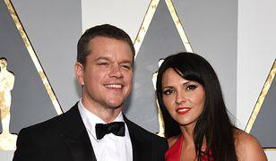 Matt Damon i Luciana Barroso - Małżeństwo od 2005 roku