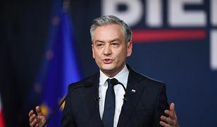 Wybory prezydenckie 2020. Konwencja wyborcza Roberta Biedronia w Świdnicy. Na żywo