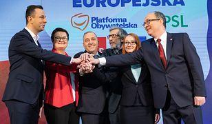 Pierwsza wpadka Koalicji Europejskiej. Polityk poszedł na wywiad i zgubił dokument
