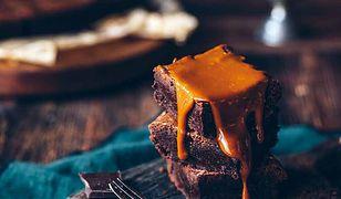 Brownie z solonym karmelem. Wilgotne i aromatyczne