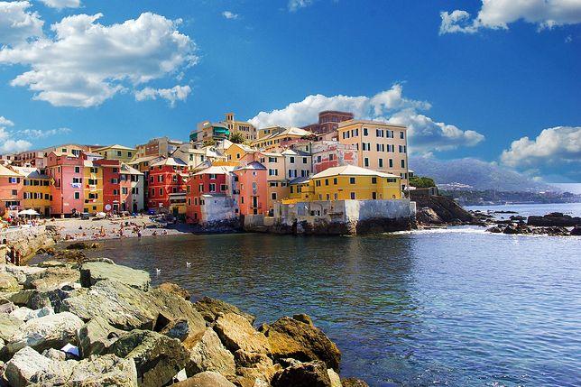 Widok na Genuę, jeden z najpopularniejszych wakacyjnych kierunków we Włoszech