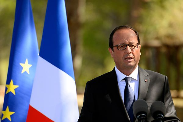 Francja dostarczyła broń rebeliantom w Syrii - przekazał prezydent Francois Hollande
