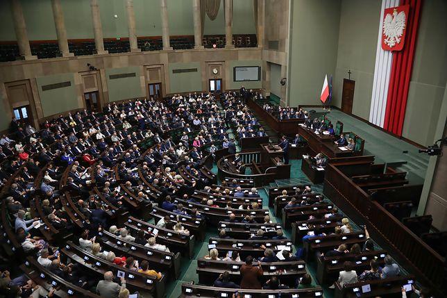 Sejm. PiS przegrało głosowanie