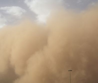 """""""Godzilla"""", czyli potężna chmura pyłu znad Sahary zmierza do USA"""