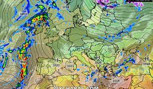 Pogoda w tym tygodniu nas zaskoczy (wxcharts.com)