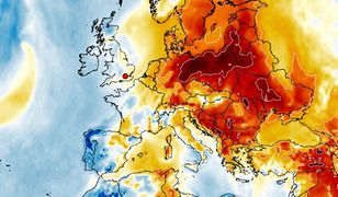 Pogoda. Do Polski nadchodzi fala ciepła (wxcharts.com)
