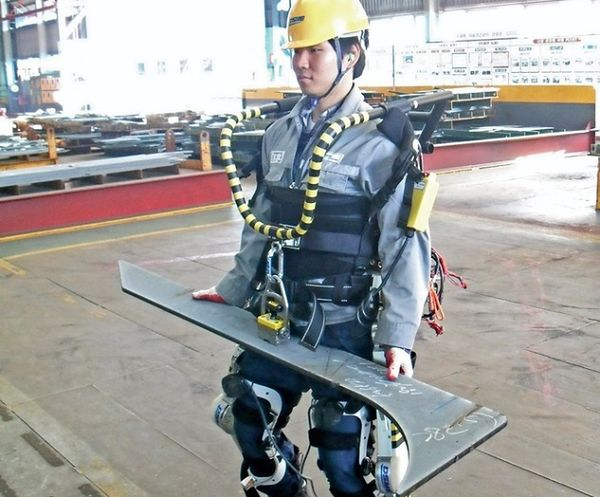 Koreańscy robotnicy silni jak roboty