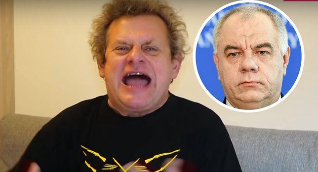 """W """"Oddziale beznadziejnych przypadków"""" Kazik atakuje m.in. Jacka Sasina i TVP"""
