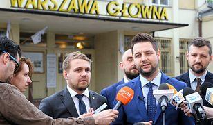 Patryk Jaki i Rafał Trzaskowski, kandydaci na prezydenta stolicy
