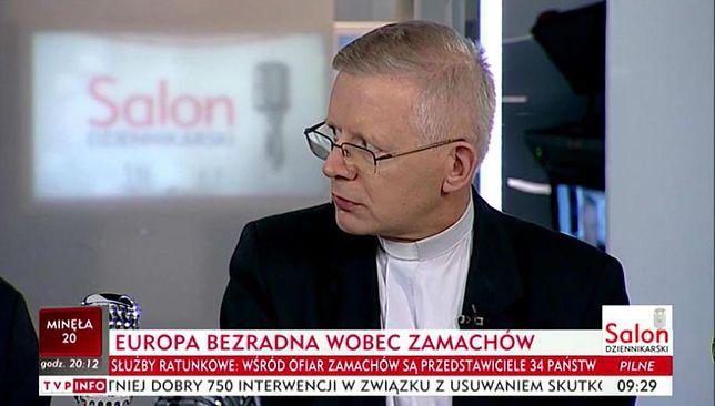 Ksiądz Henryk Zieliński uznał, że zamach w Barcelonie to skutek rozwiązłości jej mieszkańców.