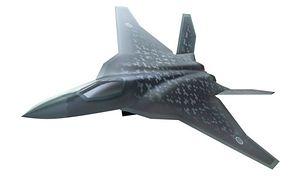Pierwsza oficjalna wizualizacja samolotu nowej generacji F-X