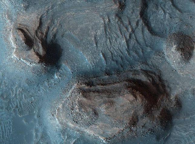 Mars na zdjęciach z kamery High Res Imaging Science Experiment (HiRISE)