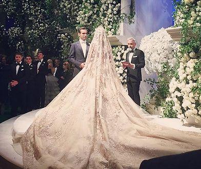 Jak wygląda ślub za 10 mln dolarów? Wystarczy spojrzeć na te zdjęcia