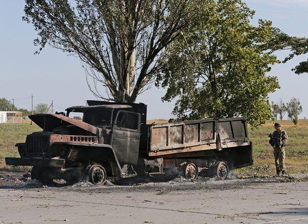 Zniszczenia w Mariupolu
