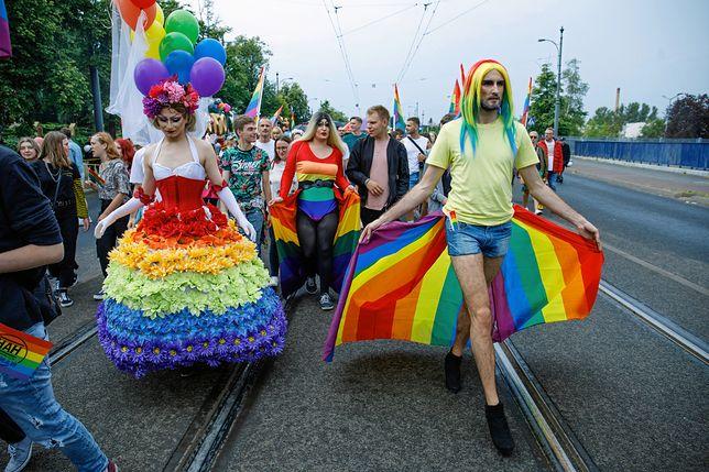 Marsz Równości w Poznaniu w lipcu 2019 r.
