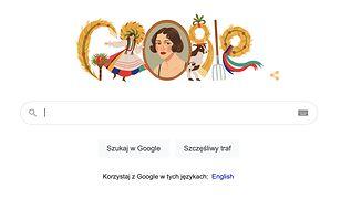 Google Doodle przypomina o artystce Zofii Stryjeńskiej