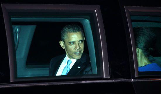 Wyślą Obamie fakturę za poruszanie się po Londynie