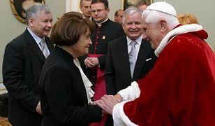 Jarosław i Lech Kaczyńscy mieli wielki szacunek dla swojej matki