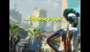 Cyberpunk 2077 retro w stylu PSX stworzony przez fana
