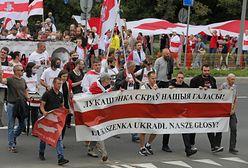 Manifestacje w rocznicę sfałszowanych wyborów na Białorusi