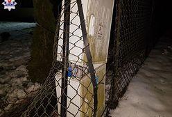 Łęczna: pijany traktorzysta staranował ogrodzenie i wjechał w ścianę budynku