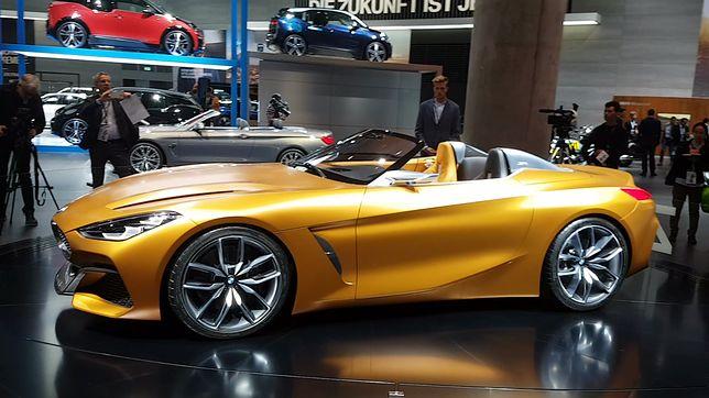 BMW Concept Z4 na Salonie Samochodowym we Frankfurcie. Zapowiada przyszłość marki