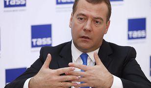 """Katastrofa smoleńska. Dmitrij Miedwiediew o """"rusofobskiej histerii w Polsce"""""""