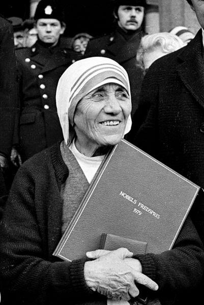 Grudzień 1979 r. - odbiór Pokojowej Nagrody Nobla