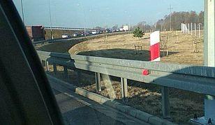 """Zablokowana autostrada A1. """"Otwórzcie bramki"""""""