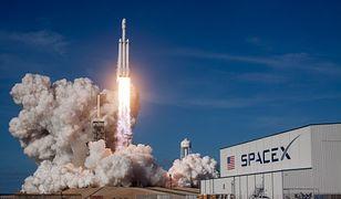 Falcon Heavy: pierwszy taki lot w historii. Wielki sukces SpaceX