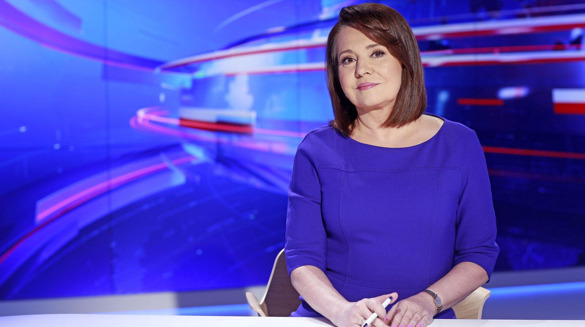 """Danuta Holecka dwa lata temu została szefową """"Wiadomości"""" TVP"""