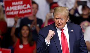 Donald Trump pojawił się na wiecu w Tulsie. Zaraz po tym w Oklahomie było trzesienie ziemi