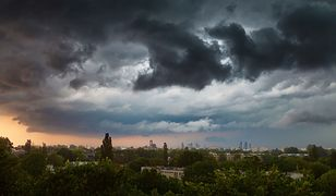 Pogoda. Warszawa. Środa 19 sierpnia. Czeka nas pochmurny dzień i burze z piorunami