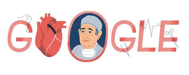 Google Doodle: 96. rodziny René Favaloro, który jako pierwszy wstawił by-passy