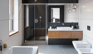 Nowoczesna łazienka dla mężczyzny
