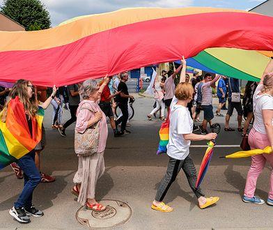 Marsz Równości w Rzeszowie w czerwcu 2019 r.