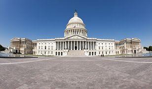 Kapitol - siedziba Kongresu Stanów Zjednoczonych w Waszyngtonie