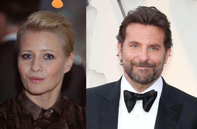 Małgorzata Kożuchowska i Bradley Cooper