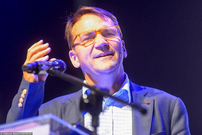 Radosław Sikorski uważa, że Jarosław Gowin mógłby wesprzeć opozycję