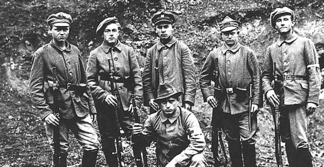 Powstańcy śląscy w 1921 r.